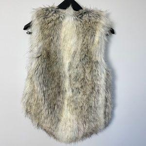 BSABLE Los Angeles faux fur vest